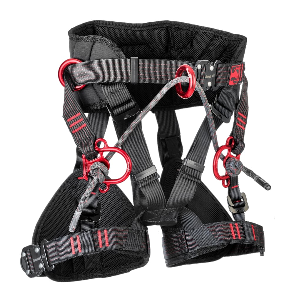 Simarghu Gemini Harness - Specifically designed for the female Arborist
