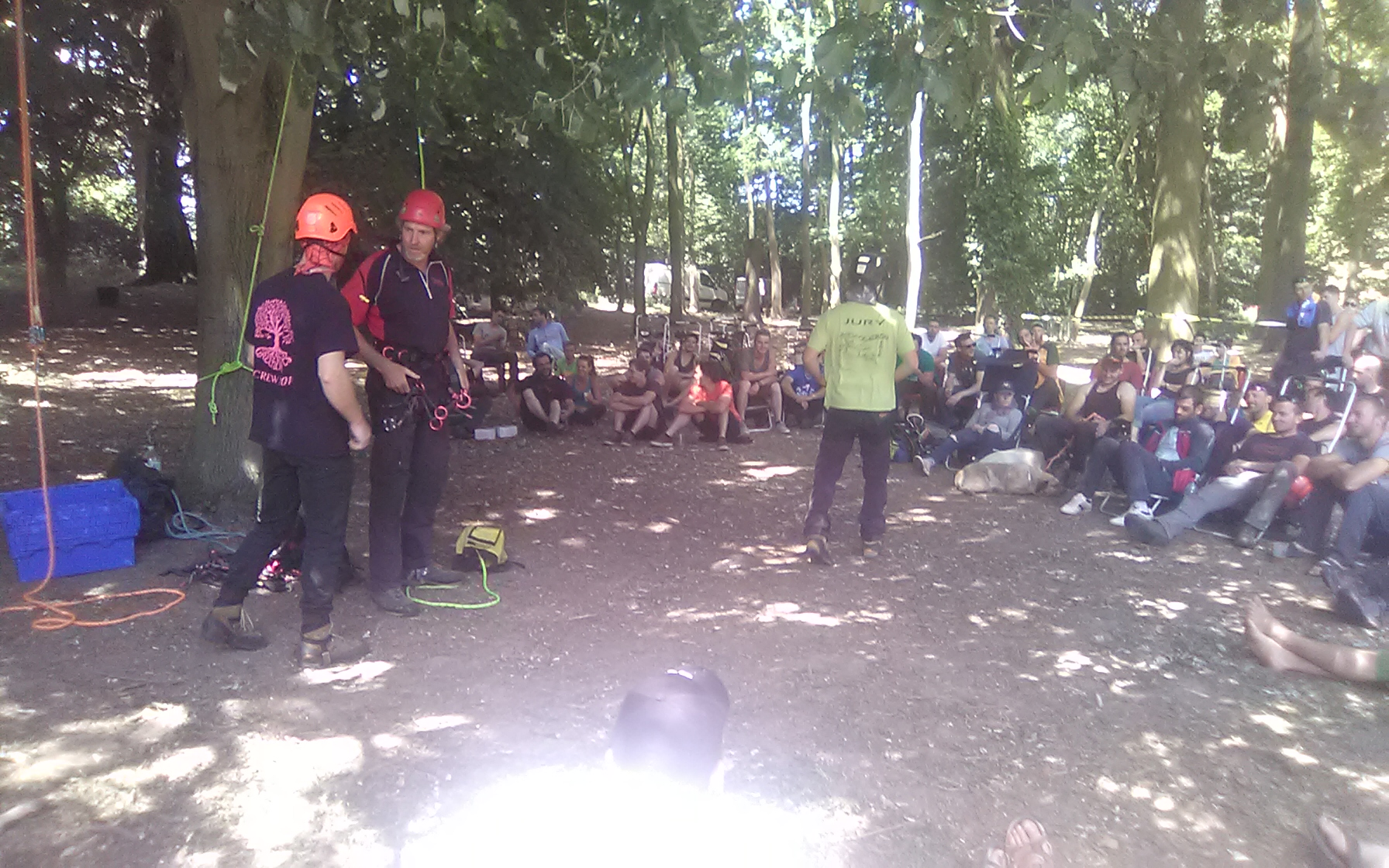 French Tree Climbing Competition and Trade Show